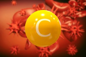 vitamin C fighting viruses and bacteria in the bloodstream, boos